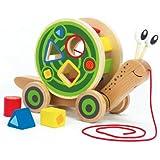 Hape Walk-A-Long Snail Toy