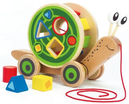 Hape WalkALong Snail Toy Picture