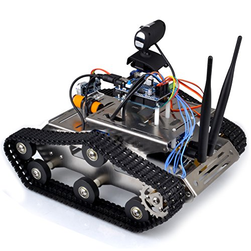 Galleon kuman sm th wireless wifi robot car kit for