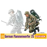 1/6 WW.II ドイツ軍 M35火炎放射器