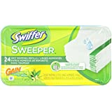 Swiffer Sweeper Wet Mopping Cloths Mop And Broom Floor Cleaner Refills Gain Original Scent 24 Count- Packaging May Vary