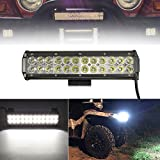 AUDEW 12 Inch 72W LED Work Lights Bar Spot Combo Light Driving Light Bar Road led lamp 7200LM for Offroad ATV Truck Boat Lamp 4WD 12V 24V