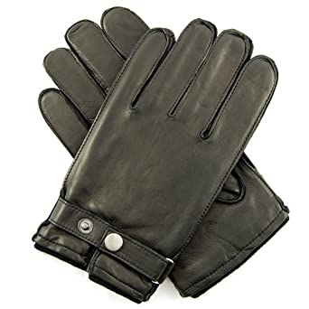 Buy Mens 'Bentley' Sheepskin Leather Gloves with Cashmere Lining By Grandoe by Grandoe
