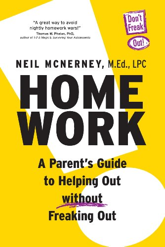 Homework A Parent s Guide To Helping Out Without Freaking Out098400517X