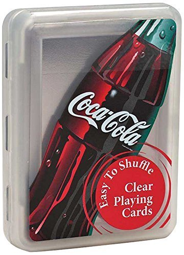 Coca-Cola Clear Playing Cards (2-Pack)