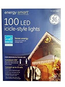 Ge Energy Smart Icicle LED Lights, 100 Count
