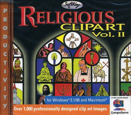 Religious Clipart Vol 2 (Jewel Case)