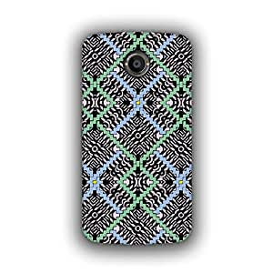 Caseque (Pro) Multicolor Rich Abstract Pattern Back Cover For Google Nexus 6