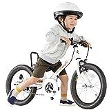 People(ピープル) ラクショーライダー 16インチ カメリアホワイト 補助輪パスして自転車イチバン乗り! YGA295