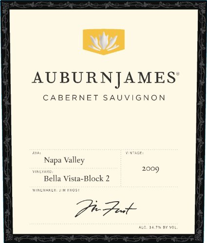 2009 Auburnjames Napa Valley Cabernet Sauvignon, Bella Vista - Block 2 750 Ml