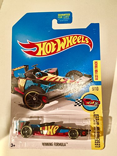 NEW 2017 Hot Wheels WINNING FORMULA (REG TREASURE HUNT) 9/10 Legends of Speed (Hot Wheels T Hunt compare prices)