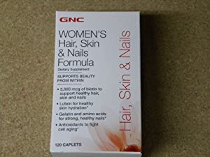 GNC hair, skin & Nails Formula