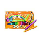 Artline Stix Brush Markers, Assorted Color Set of 20