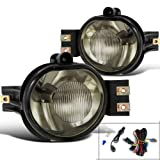 Dodge Ram 1500 2500 3500 Durango New Body Smoked Fog Lights Lamps