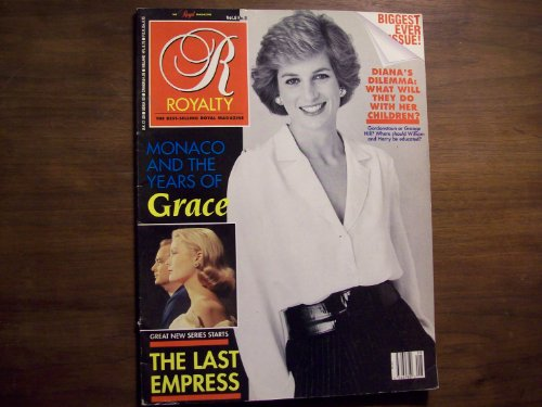 Princess Diana Cover Royalty Monthly Magazine, Vol. 8, No. 8 (May, 1989)