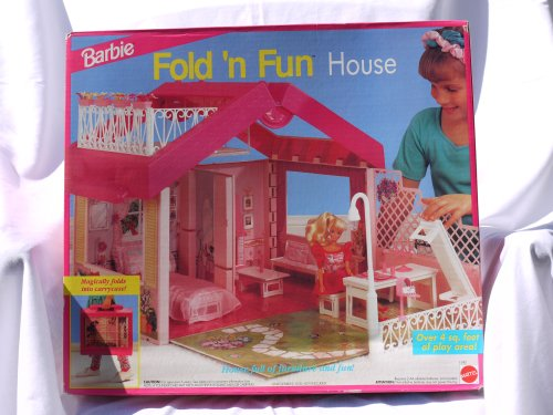 Doll House Review Barbie Fold N Fun Home Playset House W Street