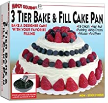 Hgm 3 Tier Bake & Fill Cake Pan (Pack Of 48)