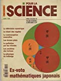Pour La Science N° 249 : Ex-Voto Mathématiques Japonais / Tv Numérique/ Chant Des Cigales/ Contraception Masculine/ Pollution Par Les Nitrates/ Ancêtres Des Tortues/ La Physique Du Mélange...
