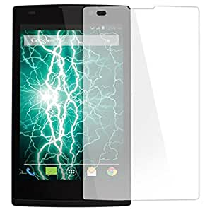 SNOOGG PACK OF 9 Lava A48 (Champagne) Branded Ultra Clear Perfect Fitting Mobile Screen Guard Screen Protector
