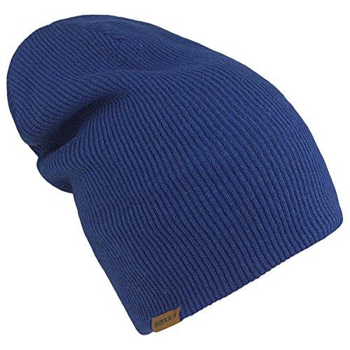 Brekka, Cappello Milano, Blu (Blue), Taglia unica