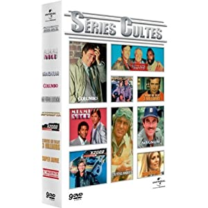Séries TV cultes - Coffret (french Version)