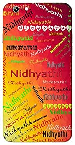 Nidhyathi (Popular Girl Name) Name & Sign Printed All over customize & Personalized!! Protective back cover for your Smart Phone : Samsung Galaxy S6 Edge