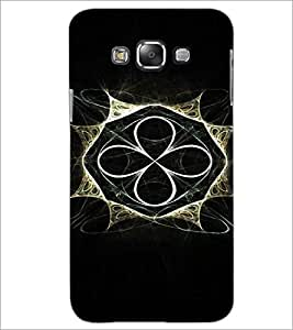 PrintDhaba Abstract Design D-3294 Back Case Cover for SAMSUNG GALAXY A8 (Multi-Coloured)