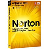 Norton Antivirus 2011, 3 Computers, 1 Year Subscription (PC)by Norton from Symantec