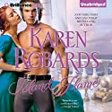 Island Flame (       UNABRIDGED) by Karen Robards Narrated by Justine Eyre