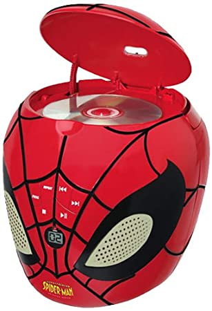 Lexibook - RCD200SP - Lecteur CD Spider Man
