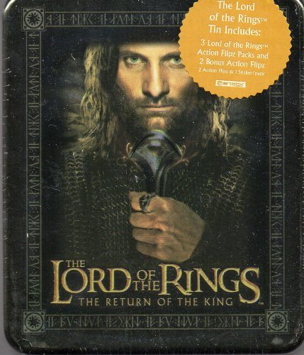Lord of the Rings the Return of the King Action Flipz Tin