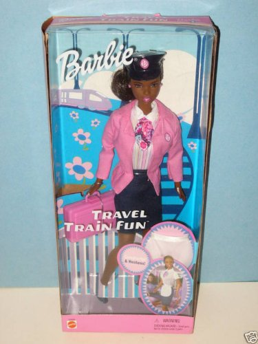 Barbie Travel Train Fun African American