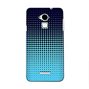 CrazyInk Premium 3D Back Cover for COOLPAD NOTE 3 (5.5 INCH) - BLUE HALFTONE PATTERN