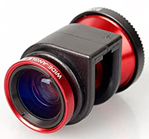 Olloclip Quick-Connect Lens Solution (Black/Red) for iPhone 4/4S
