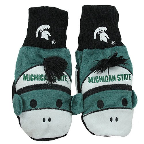 NCAA Michigan State Spartans Youth Mascot Mitten at Amazon.com
