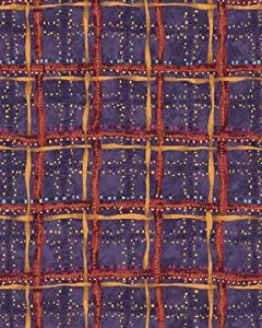Bittersweet Benartex Nancy Halvorsen Cross Roads plum