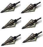 Topoint 3 Blade Broadhead TP211 (6 Pack, 100 Grain)