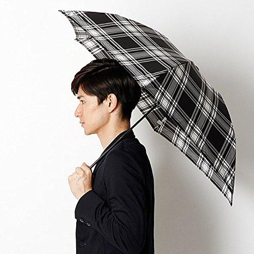 マッキントッシュ フィロソフィー(MACKINTOSH PHILOSOPHY) 折りたたみ傘(手開きタイプ・軽量・男女兼用)【ブラック/55cm】