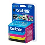 Brother MFC-215 C (LC-900 VAL BP) - original - Inkcartridge multi pack (black, cyan, magenta, yellow) - 400 Pages