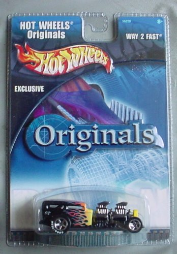 Hot Wheels Originals Exclusive Way 2 Fast Black - 1