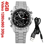 Mini Reloj Pulsera 4GB DV 960P HD Esp...