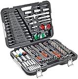 CONNEX COXBOH600160 Premium Tool Case/Socket Set for Motor Vehicles (160-Piece)