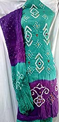 Shubh Women's Dress Material (5307CWRMPU_Teal Purple_Free Size)