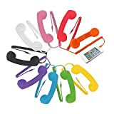 Retro Classic POP Handset Headset for iPhone 2G 3 3G 4 4S iPad iPod Cell Phone YELLOW