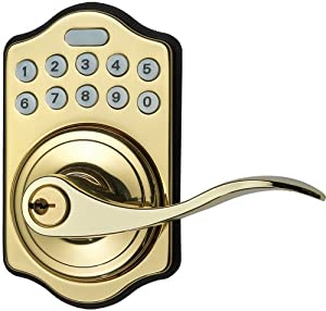 Home Netwerks 43802 Pb Wifi Enabled Key Pad Door Lock With