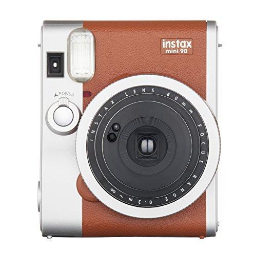Fujifilm-Instax-MINI-90-NEO-Classic-Cmara-Marrn-Plata