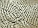 Sirdar Flirt DK Knitting Wool/Yarn Slinky Silver 222 - per 50g ball