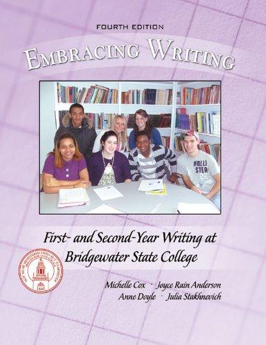 Embracing Writing: First-Year Writing at Bridgewater State College