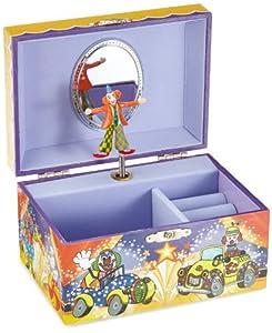 Spieluhrenwelt Kinder-Schatzdose Clown Spielt die Melodie If I Where A Rich Man 22076