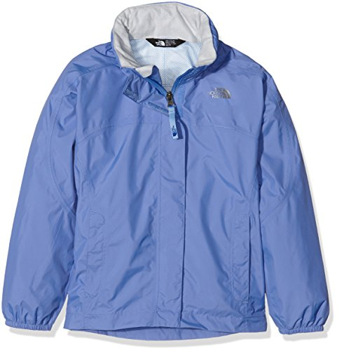 The North Face G Resolve Reflective, Giacca Unisex Bambino, Blu (Stellar Blue), Large